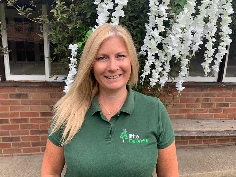 Denise Green Lead Mentor Little Birches Nursery and Preschool West Wickham Kent Header