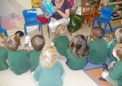 Little Birches Nursery and preschool tunbridge wells french class